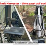 Harvester Unfall